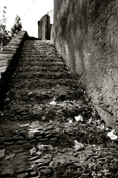 Steps in Funchal, Madeira