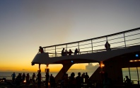 Sunset on Deck (2)