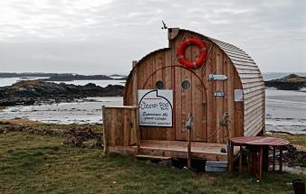 The Lobster Pod, Rosbeg Beach