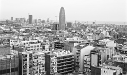 View to Torre Agbar