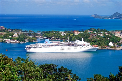 The Thomson Dream, St Lucia