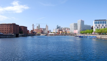 Salthouse Dock, Liverpool (before the Mann Island building was built)