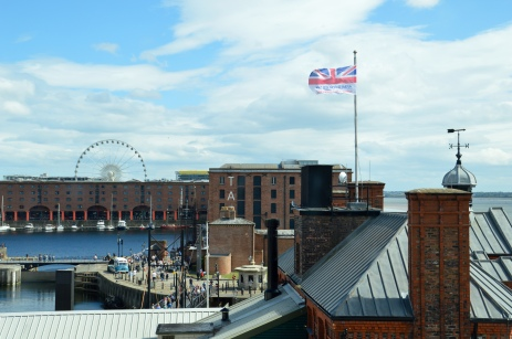 Taken from the second floor of the Museum of Liverpool