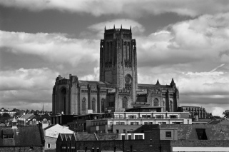 Liverpool's Anglican cathedral, Hope Street.