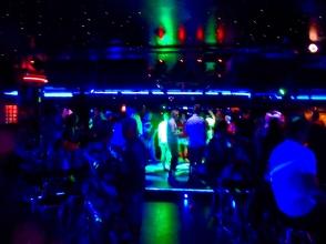 Dance floor in Benidorm