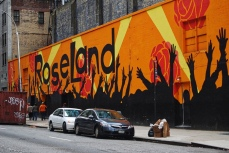 The rear of the Roseland Ballroom.