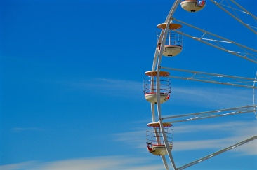 Observation wheel in Weston-Super-Mare