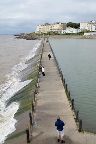 Marine Lake Causeway, Weston-Super-Mare