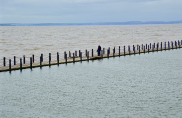 Marine Lake Causeway in Weston-Super-Mare