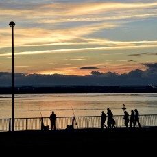 Otterspool Promenade at Dusk