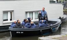 Boat Tour in the Rain