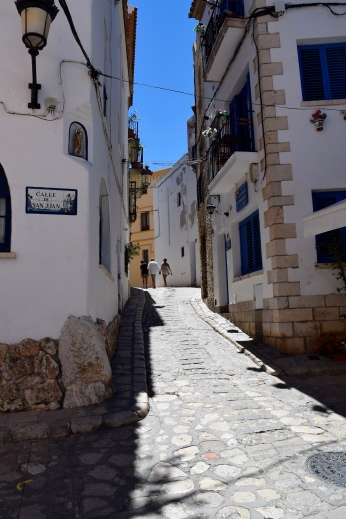 A typical Sitges back-street