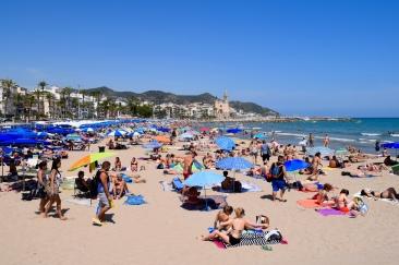 Ribera beach, Sitges