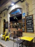 Casa Tecla tapas bar at night