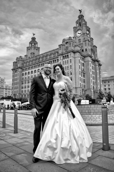 John, Aysha & The Liver Building