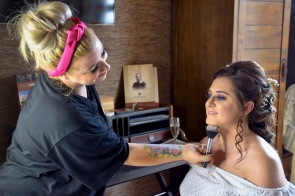 Aysha & Make-Up Artist