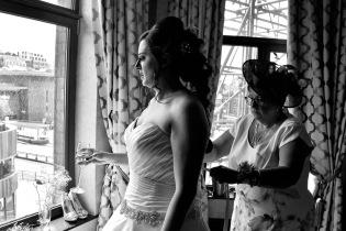 Tying the Dress